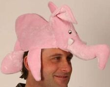 Elephant Hat Pink Animal Fancy Dress Costume Accessory P2597