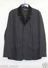 Nautica Men's Padded Zip Up Jacket, Gray, XL