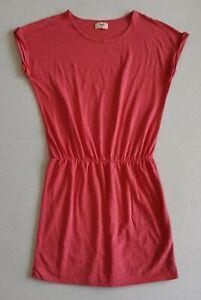 Hush Jersey T-Shirt Dress - Coral - S/M