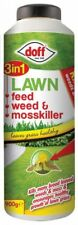 Doff 3 In 1 Lawn Feed Weed & Moss Killer 900g