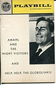 Gian Carlo Menotti Amahl And The Night Visitors Help The Globolinks Playbill