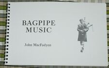 Bagpipe Music by John MacFadyen Book for pipes