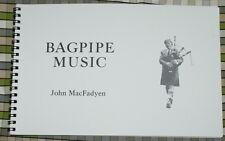 Gaita música por John MacFadyen libro para tubos