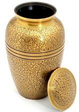 Banbury latón Cenizas De Cremación adultos Urna - uu100008a