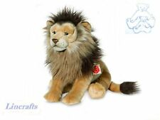 Lion Plush Soft Toy Wildcat by Teddy Hermann Sold by Lincrafts. 90457 REDUCED