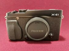 Fujifilm X-E1 16.3 MP Digital Camera - Black (Body Only)