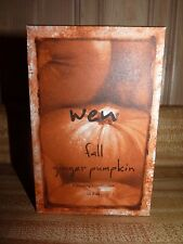 Wen Fall Ginger Pumpkin Cleansing Conditioner 16 oz. New in Box,  FREE SHIPPING