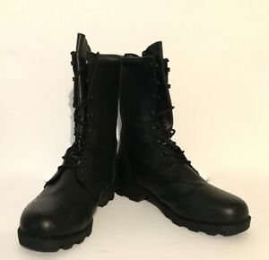 Men's Combat Boots by Rothco, Black, Quick Lace - Size 11, Near Mint