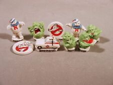 Ghostbusters French Feves Porcelain 9 Figurines Ghost Busters