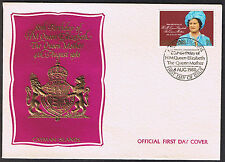 Cayman Islands First Day Cover 80th Birthday Queen Mother 1980 SG506