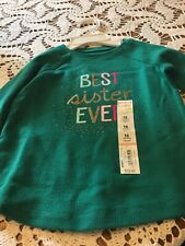 Shirt For Baby Girl, Size 18 Months, Jumping Beans Brand, Green Color