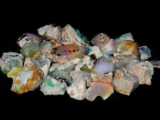 """144.30 Cts Natural Ethiopian Welo Opal Rough """"Bright,Flash,Fire,Color"""",Nicer Lot"""