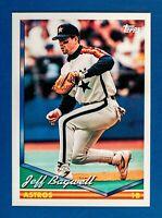 Jeff Bagwell #40 (1994 Topps) Baseball Card, Houston Astros, HOF