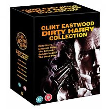 Dirty Harry 1-5 Collection Box UNCUT Set dvd NEU 6 dvd 1 2 3 4 5  Clint Eastwood
