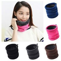 3 IN 1 Fleece Winter Warm Thick Neck Warmer Hat Scarf Scarves Balaclava Snood
