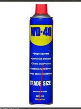 WD40 600ml Trade Size Spray Can - Lubricant UK Tracked DHL Post