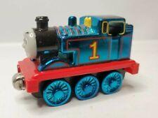 Thomas & Friends Shiny Metallic Blue Thomas Take N Play Magnet Diecast Train HTF