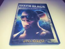 Pitch Black (Dvd, 2004, Full Frame Edition)