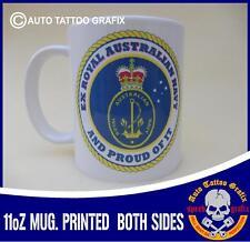 EX AUSTRALIAN NAVY TEA COFFEE MUG CUP WORKSHOP GARAGE OFFICE MILITARY COOL GIFT