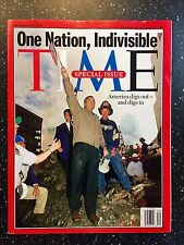 9-11 - Time Magazine - One Nation, Indivisible  - We Will Never Forget