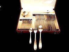 """ménagére """"ORBRILLE de 36 piéces en métal argenté 84 grs de style Louis XVI (148)"""