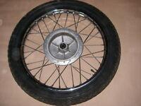 Cerchio Ruota Anteriore J19x1.60 Michelin 3.00-19 Fronte Roue Yamaha Sr 250