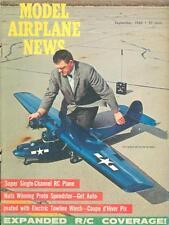 MODEL AIRPLANE NEWS SEP 1966 WW2 RAF SUPERMARINE SPITFIRE NYE_ EWR VJ 101C VTOL