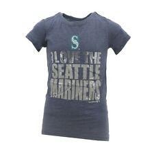 Seattle Mariners Official MLB Genuine Kids Youth Girls Size T-Shirt New Tags