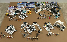 Lego Star Wars Hoth Lot 7879 7666 8089 75014 75049 with Instructions 27 MINIFIGS