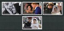 Ascension Isl 2018 MNH Prince Harry & Meghan Royal Wedding 4v Set Royalty Stamps