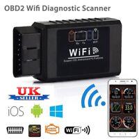 OBD II OBD 2 WiFi Auto Wireless Car Diagnostic Interface Scanner Tool UK STOCK