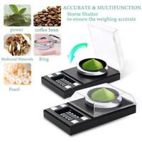 Mini Bilancia Elettronica Gioielli Bilancino Precisione Digitale LCD 0.001g 50g