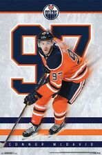 Connor McDavid 97 MAGIC Edmonton Oilers Captain NHL Hockey POSTER