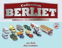 Camions Collection Berliet - Fleuron du camion français (au choix) 1/43ème