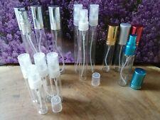 Sprühflaschen Glas 10x 10ml 5ml 15ml Mini Zerstäuber Set spray bottle 10 ml