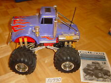 REMOTE CONTROL VINTAGE TAMIYA 1/10 SCALE BULLHEAD MONSTER TRUCK