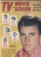 TV And Movie Screen Mag Elvis Presley Rick Nelson August 1958 062919nonr