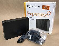 Seagate Expansion 4TB USB 3.0 Desktop Hard Drive STEB4000100 * NEW *