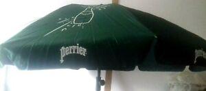 Magnifique nouveau Parasol publicitaire perrier diamettre 160