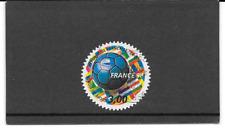 FRANCE 1998.COUPE DU MONDE DE FOOTBALL TIMBRE AUTOADHESIF CACHET ROND.Y&T: n° 17