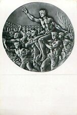 CARD IMAGE : MEDAL VERSO MEDAILLE JEUX OLYMPIQUES OLYMPIC GAMES 1936