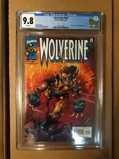Wolverine 159 CGC 9.8 white pages