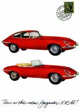 1961 Jaguar Xke - Promotional Advertising Poster