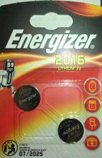 2x CR2016 Car Key Fob Battery For PEUGEOT 106 206 307 406 (READ DESCRIPTION)