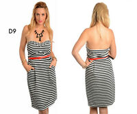 D9 Womens Beach Party Formal Belted Office Work Evening Slim Plus Size Day Dress
