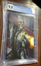 Transformers vs The Terminator #1 CGC 9.8 Monte Moore Virgin Variant W/ COA