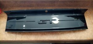 2015-2020 Ford Mustang GT Gloss Black Rear Trunk Decklid Panel Trim Cover OEM