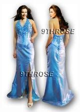 Halter Beaded Long Sleeve Dresses for Women