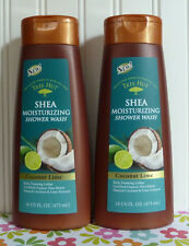 2 TREE HUT COCONUT LIME OLIVE & SHEA MOISTURIZING SHOWER BODY WASH 16 OZ X 2