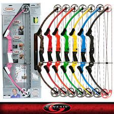 New Mathews Genesis Red Cherry One Cam Youth Bow Lh Archery Kit Model# 10929